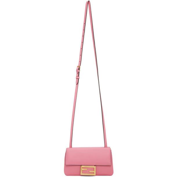 Fendi Pink Mini Baguette Wallet Bag