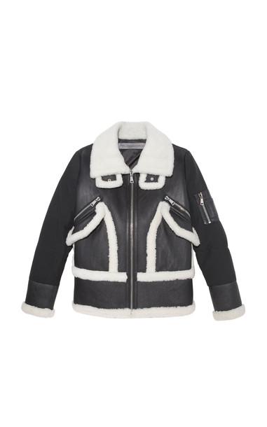 Pologeorgis The Beam Shearling Jacket Size: XS