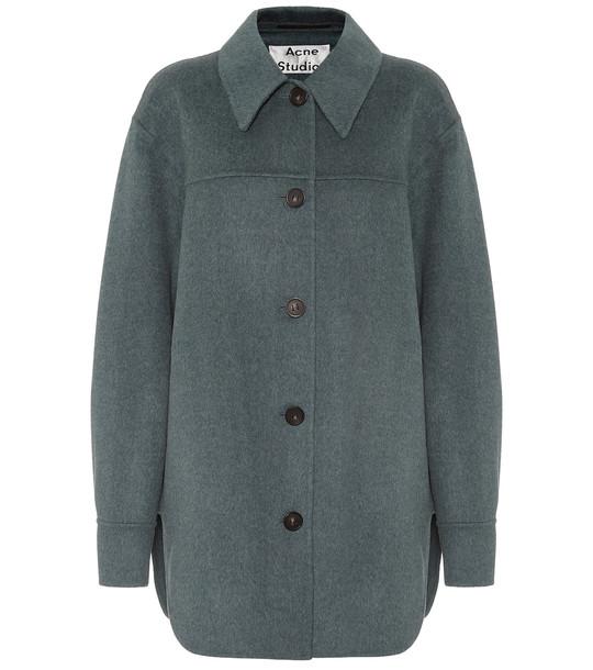 Acne Studios Wool jacket in blue