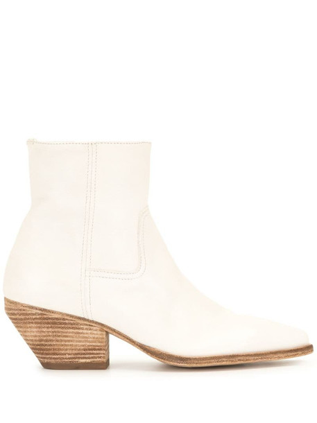 Officine Creative Arielle ankle-boots in white