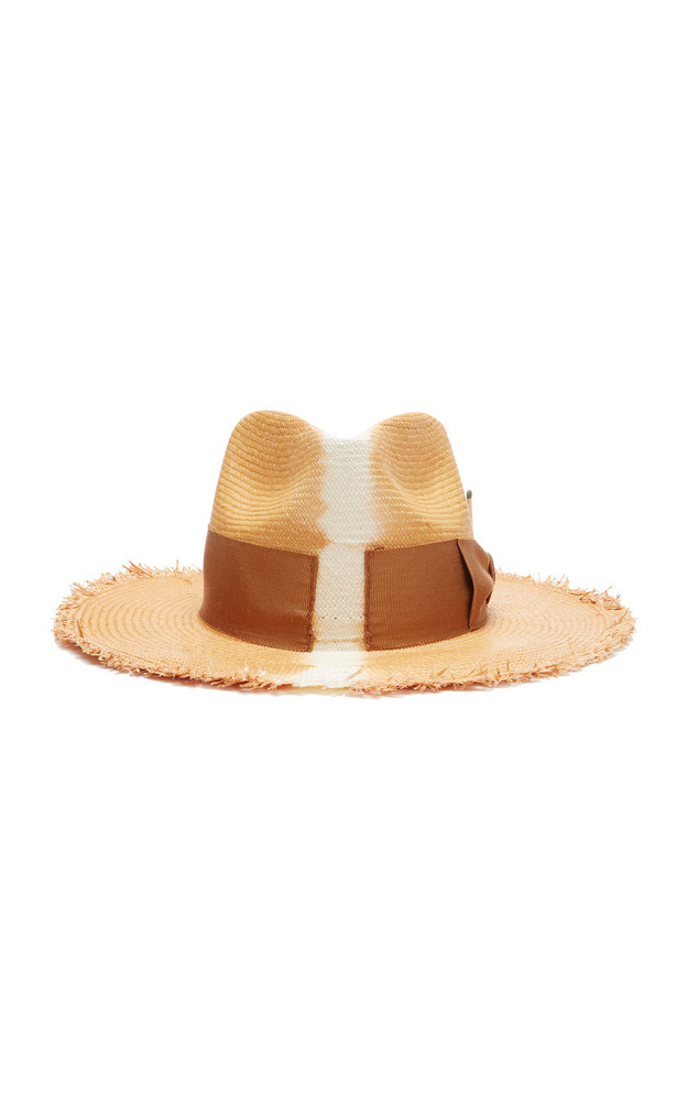 Nick Fouquet Rayon Straw Hat in neutral