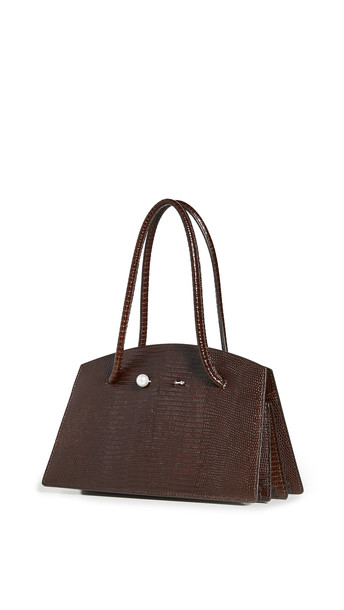 Little Liffner Mini Portfolio Bag in brown