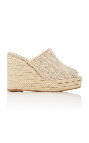 Castañer Fufu Platform Sandals in neutral