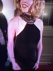 dress,black formal evening dress with necklace off shoulder style