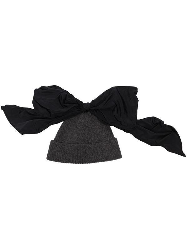 Molly Goddard Marle Lila Beanie hat in grey