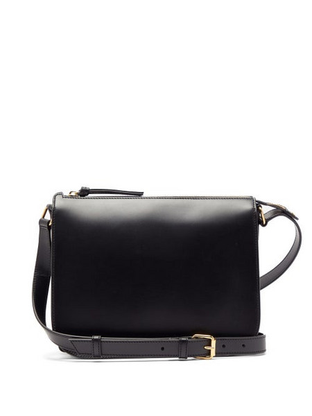 A.P.C. A.p.c. - Stéphanie Leather Cross Body Bag - Womens - Black