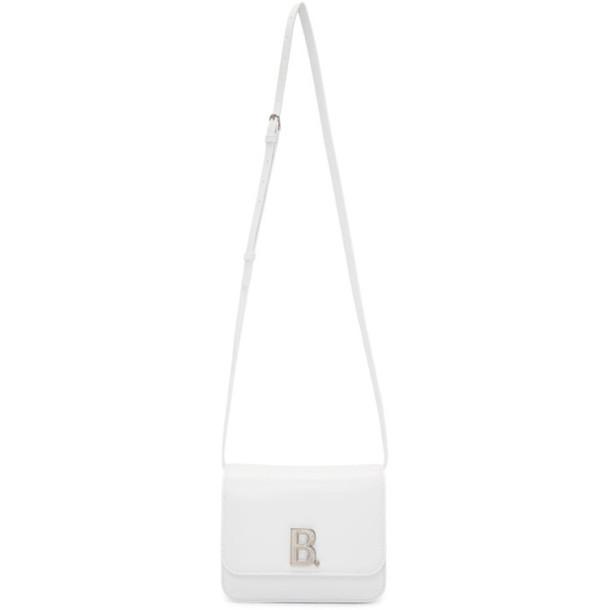 Balenciaga White Small B. Bag