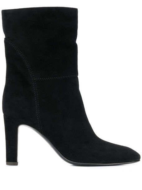 Giuseppe Zanotti contrast stitch boots in black