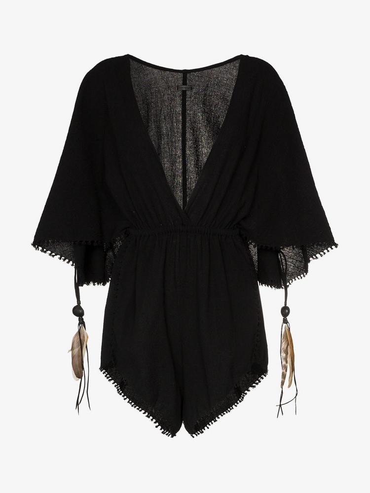 Caravana Izamal playsuit in black