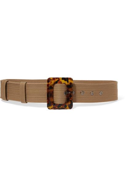 Givenchy - Wool-blend Canvas Waist Belt - Beige