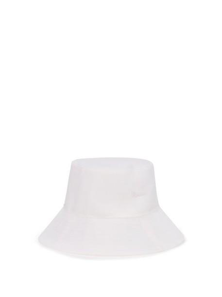 Reinhard Plank Hats - Pescatore Wide Brim Bucket Hat - Womens - White