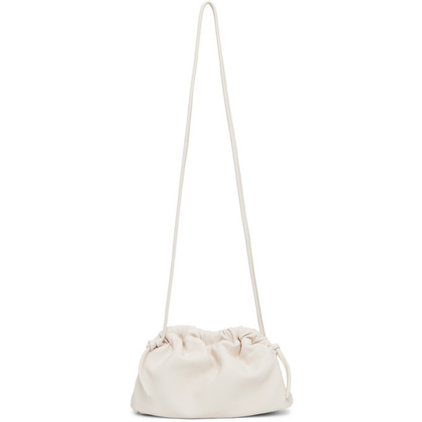 Mansur Gavriel Off-White Mini Cloud Clutch