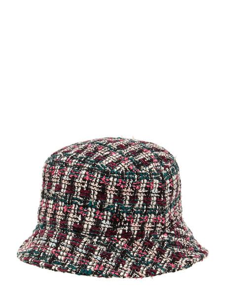 MAISON MICHEL Jason Tweed Bucket Hat