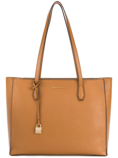Michael Michael Kors rectangular shaped tote in neutrals