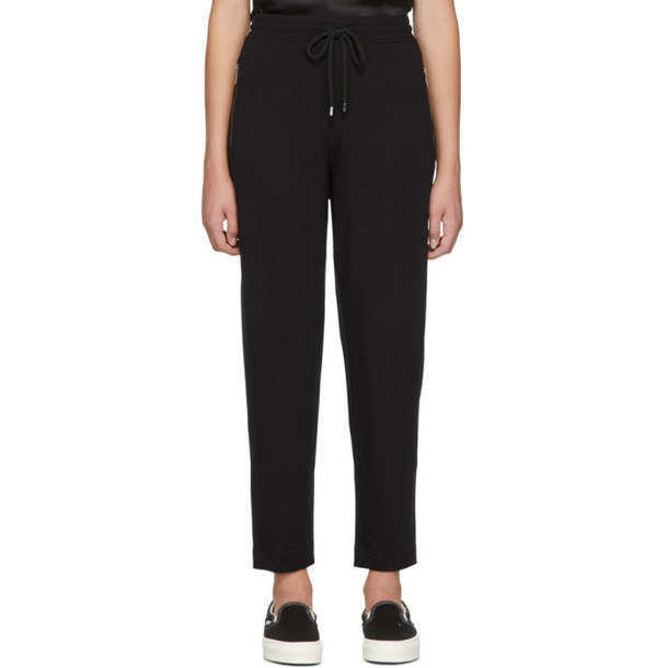 Max Mara Leisure Black Mare Lounge Pants