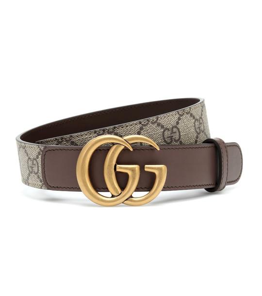 Gucci GG Supreme belt in beige