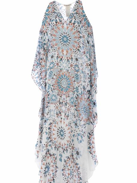Roberto Cavalli Riad Print Dress