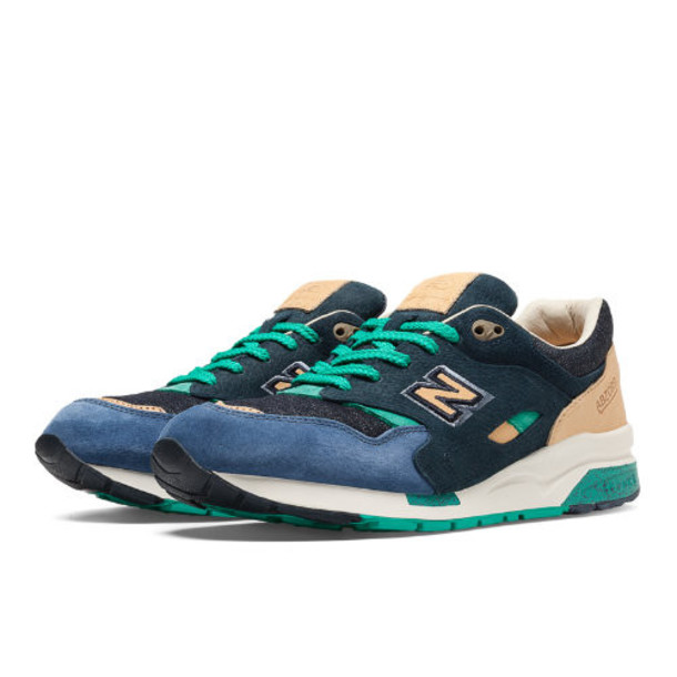Social Status x New Balance 1600 Men's Limited Edition Shoes - Navy, Cream, Teal (CM1600SS)