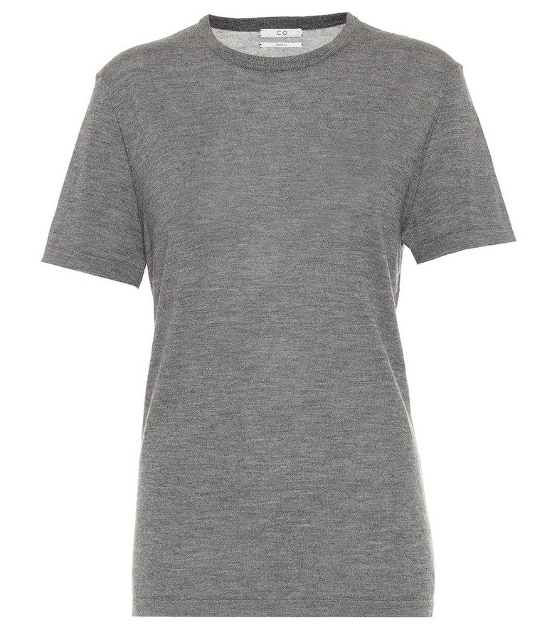 Co Cashmere T-shirt in grey