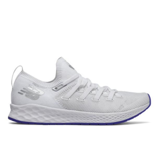 New Balance Fresh Foam Zante Trainer Women's Cross-Training Shoes - White/Blue/Grey (WXZNTRM)