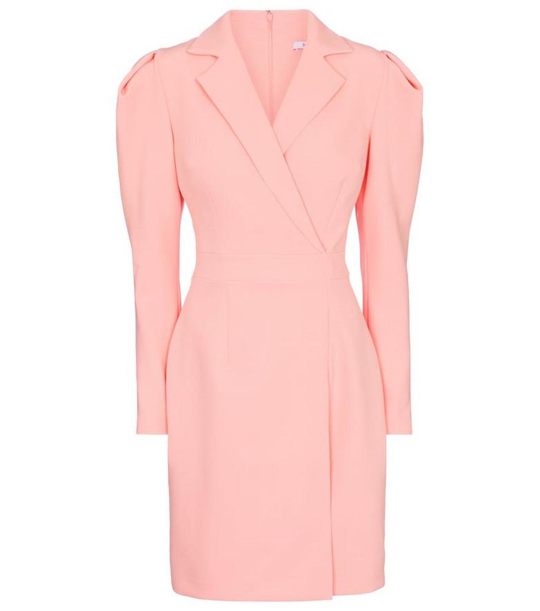 Safiyaa Varlese stretch-crêpe minidress in pink