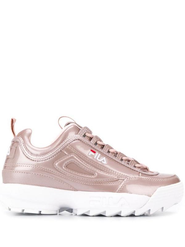Fila Disruptor M low top sneakers in pink