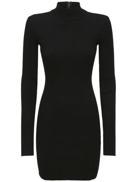 COTTON CITIZEN Ibiza Mini Dress in black