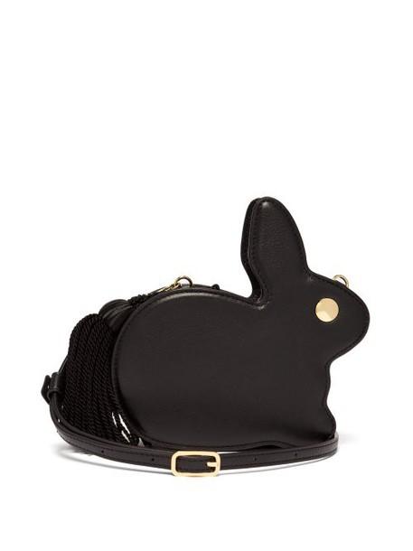 Hillier Bartley - Bunny Tassel Leather Bag - Womens - Black