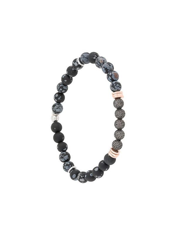 Tateossian Stonhenge bracelet in black