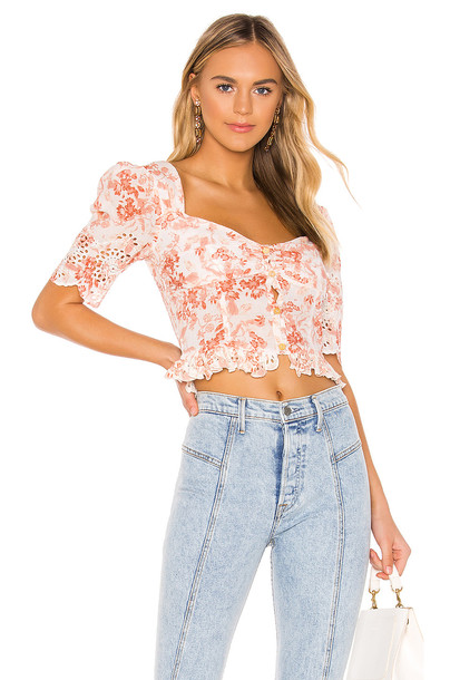 SAYLOR Janiya Top in pink