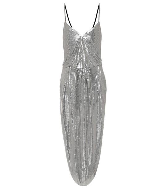 Saint Laurent Chainmail jumpsuit in silver