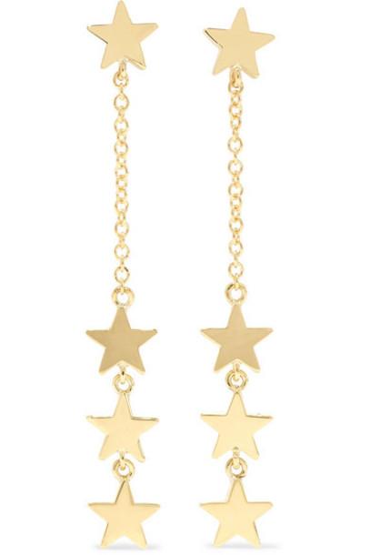 Jennifer Meyer - Four Star 18-karat Gold Earrings