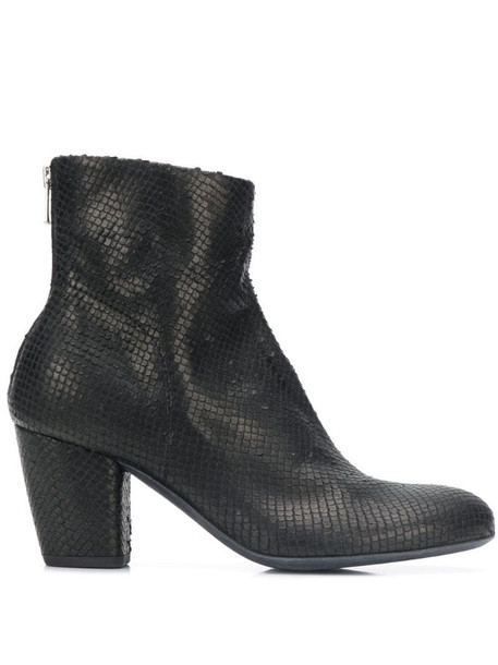 Officine Creative Julie heel ankle boots in black