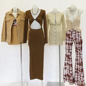 dress,top,jacket