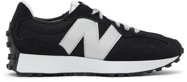 New Balance Black & Grey 327 Sneakers