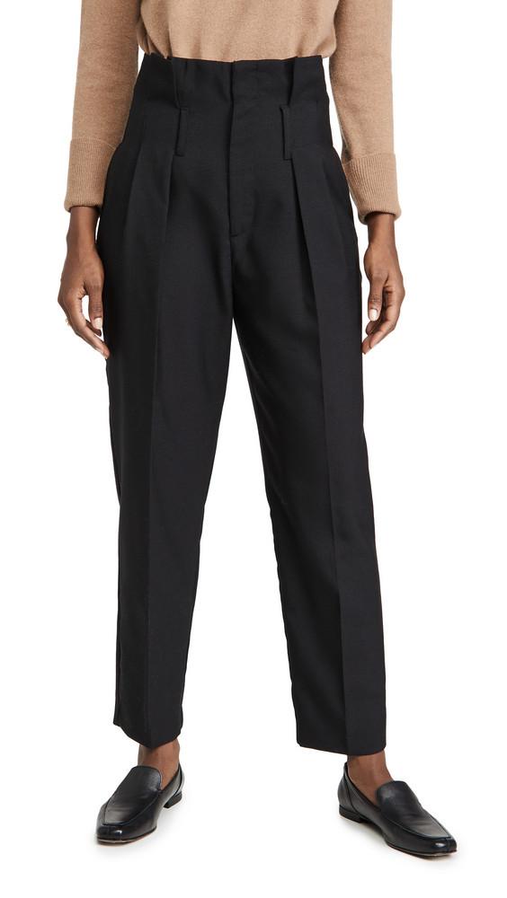ANINE BING Yves Trousers in black