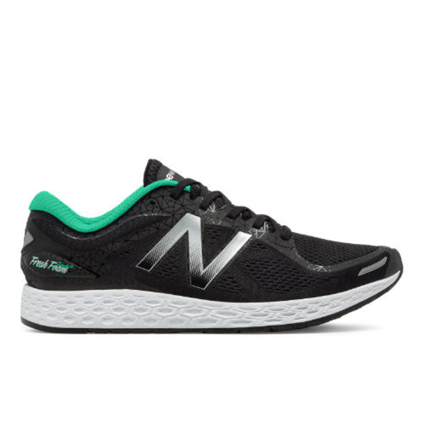 New Balance Zante v2 Bronx Women's Soft and Cushioned Shoes - Black/Silver/Green (WZANTBX2)