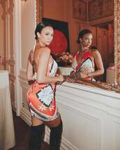 dress,backless,backless dress,draya michele,celebrity,instagram