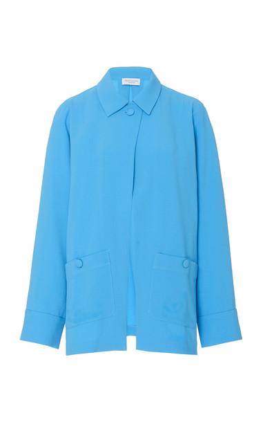 HOFMANN COPENHAGEN Chrissie Single Button Jacket in blue