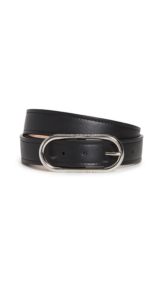 Acne Studios Masculine Thin Belt in black