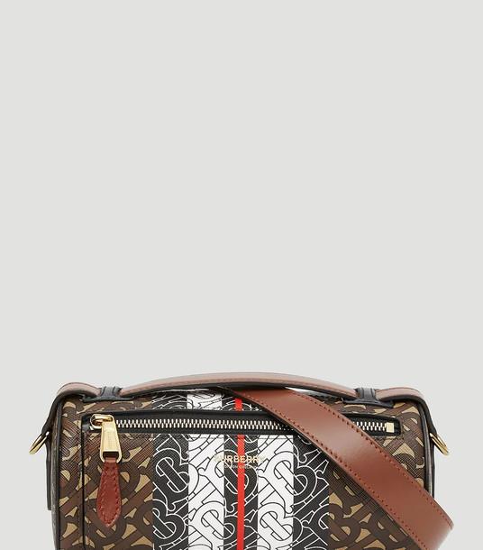 Burberry Handbags Women - Monogram Barrel Bag Brown 100% Textile. 100% Leather. One Size