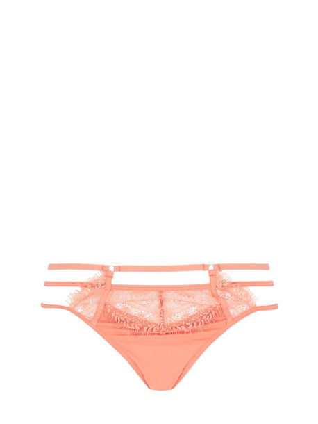 BLUEBELLA Alexandra Lace & Tulle Thong in pink