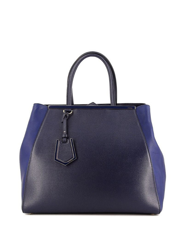 Fendi Pre-Owned large 2Jours tote bag in blue