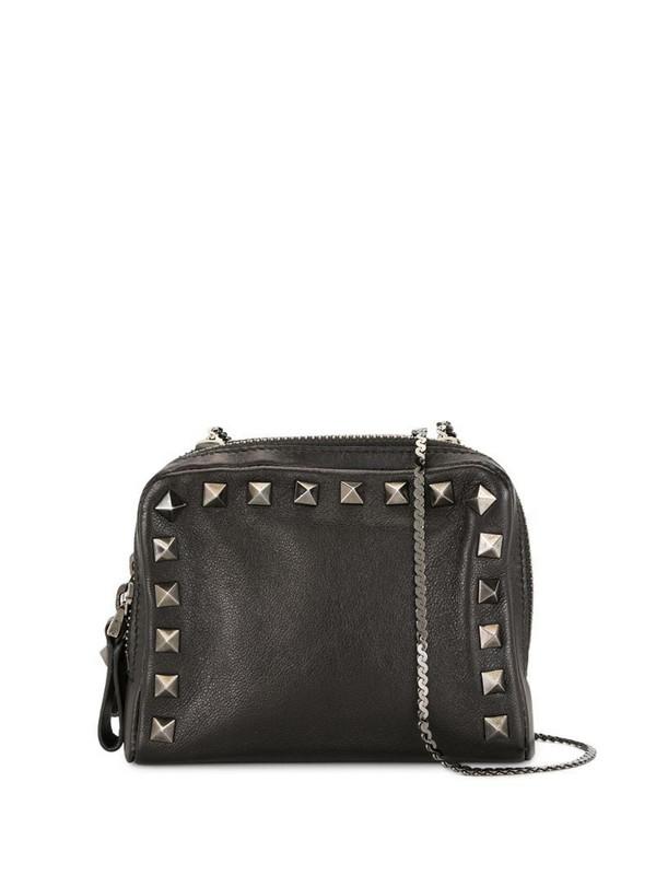Valentino Pre-Owned mini Rockstud crossbody bag in black