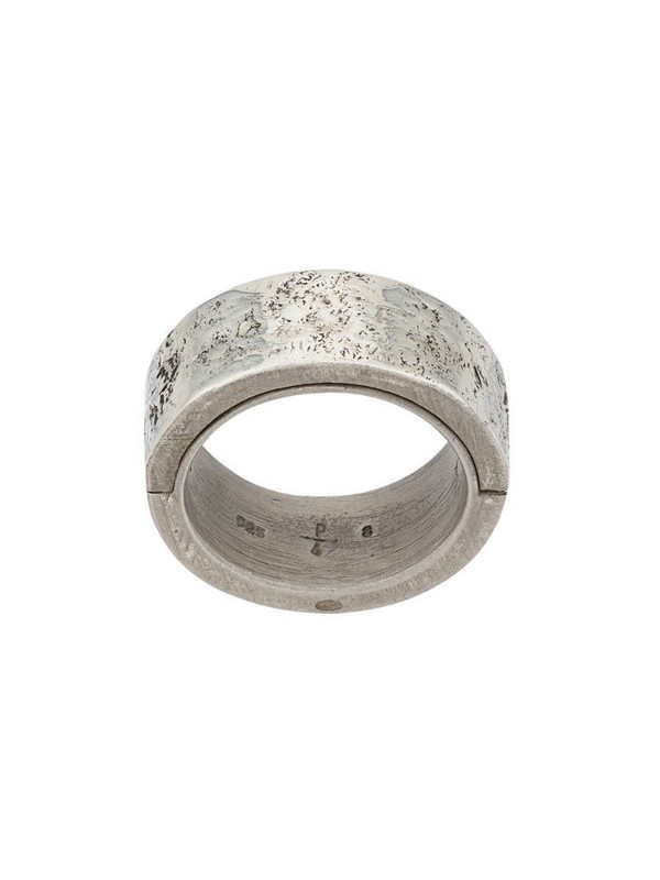 Parts of Four Sistema Ring in silver