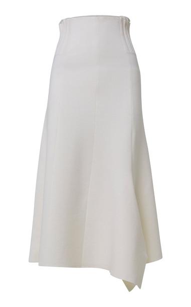 Dorothee Schumacher Poetic Drape Skirt in white