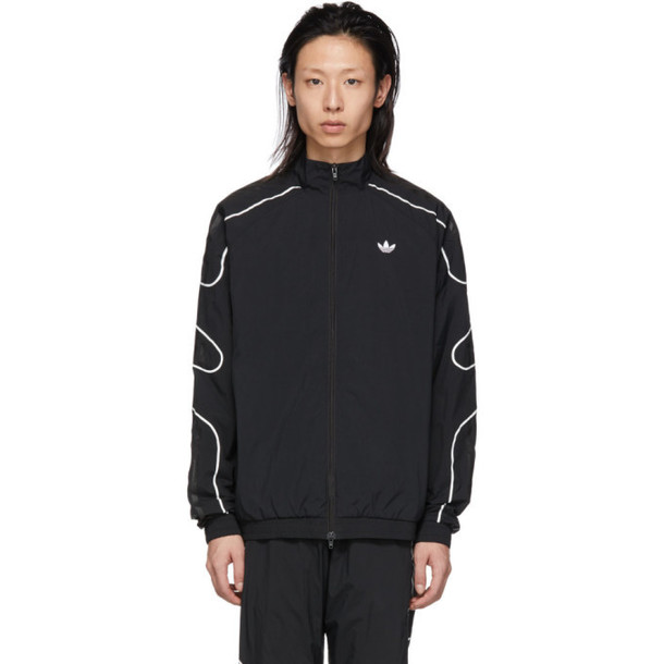 adidas Originals Black Flamestrike Woven Track Jacket