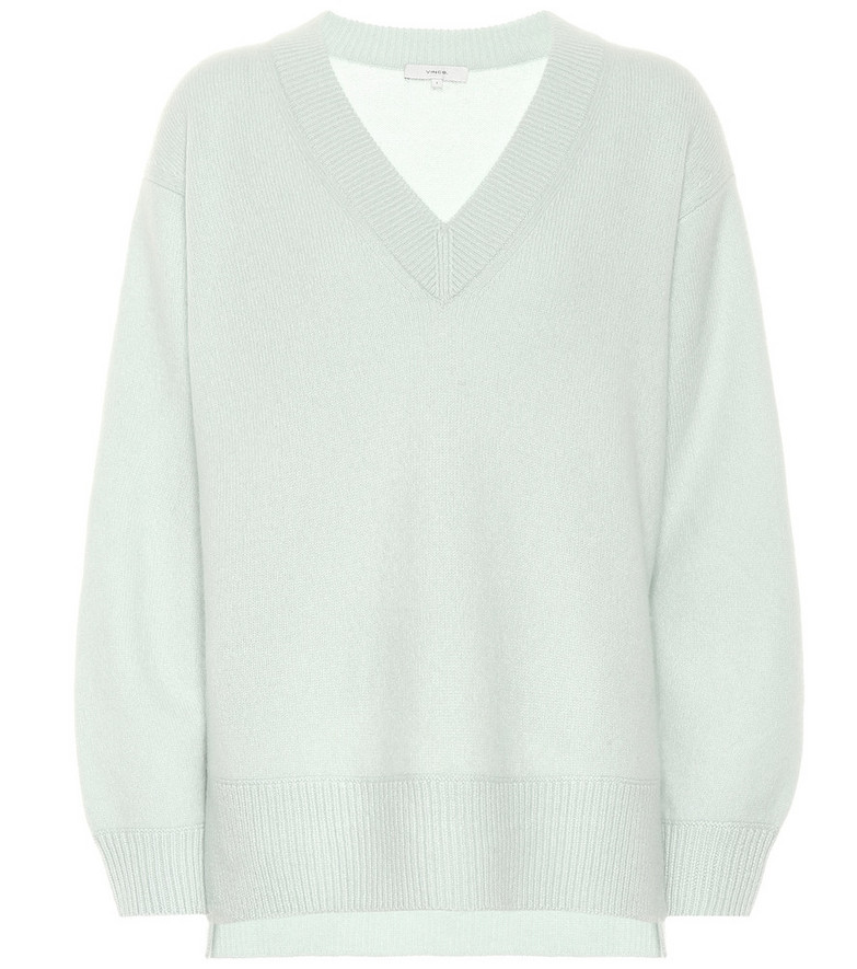 Vince Cashmere sweater in green