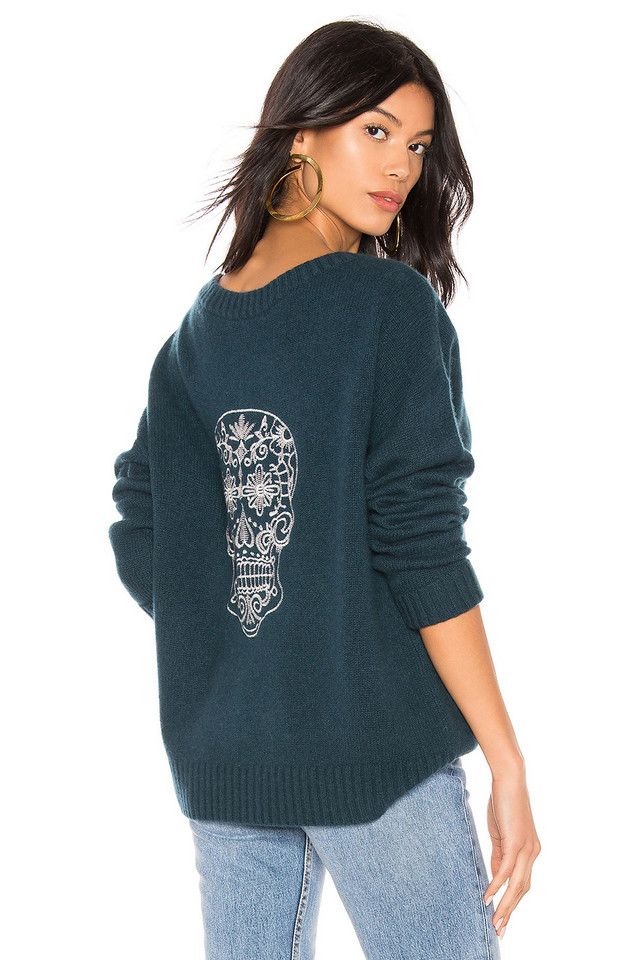 360CASHMERE Kateryna Sweater in turquoise