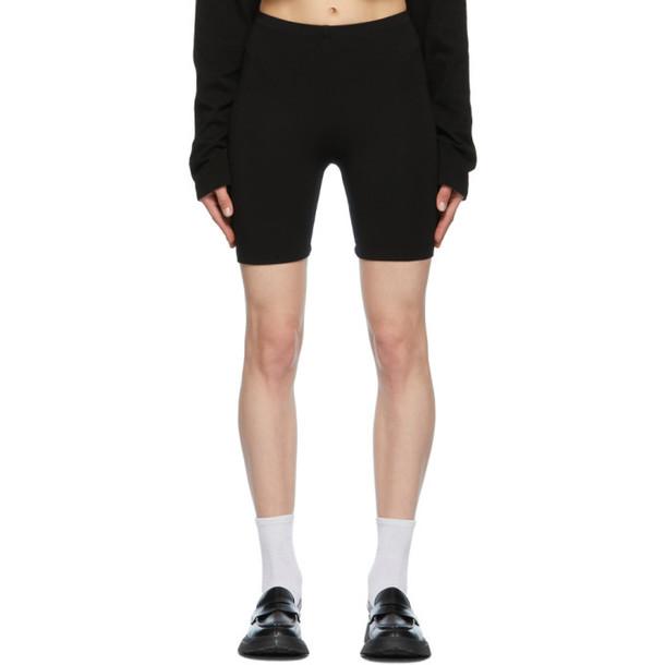 COTTON CITIZEN Black Milan Biker Shorts